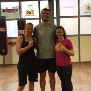 Die Fitnesstrainer bei Arnold Boxfit Pratteln