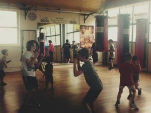 Box- und Fitnesstraining Altersklasse 9 - 12 Jahre