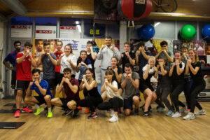 Fitness Gruppentraining im Boxclub Arnold Boxfit Pratteln
