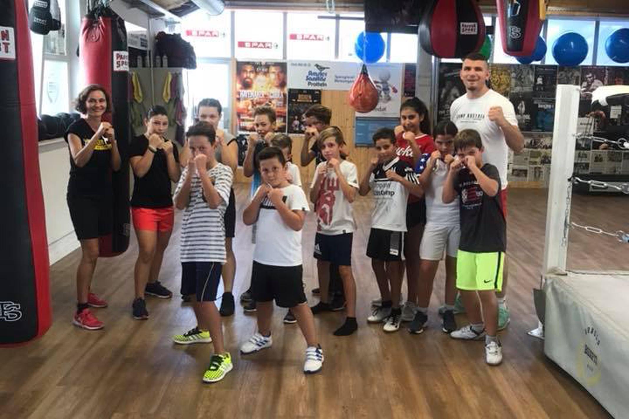 Fitness für Kinder (9-12 Jahre) bei Arnold Boxfit Pratteln