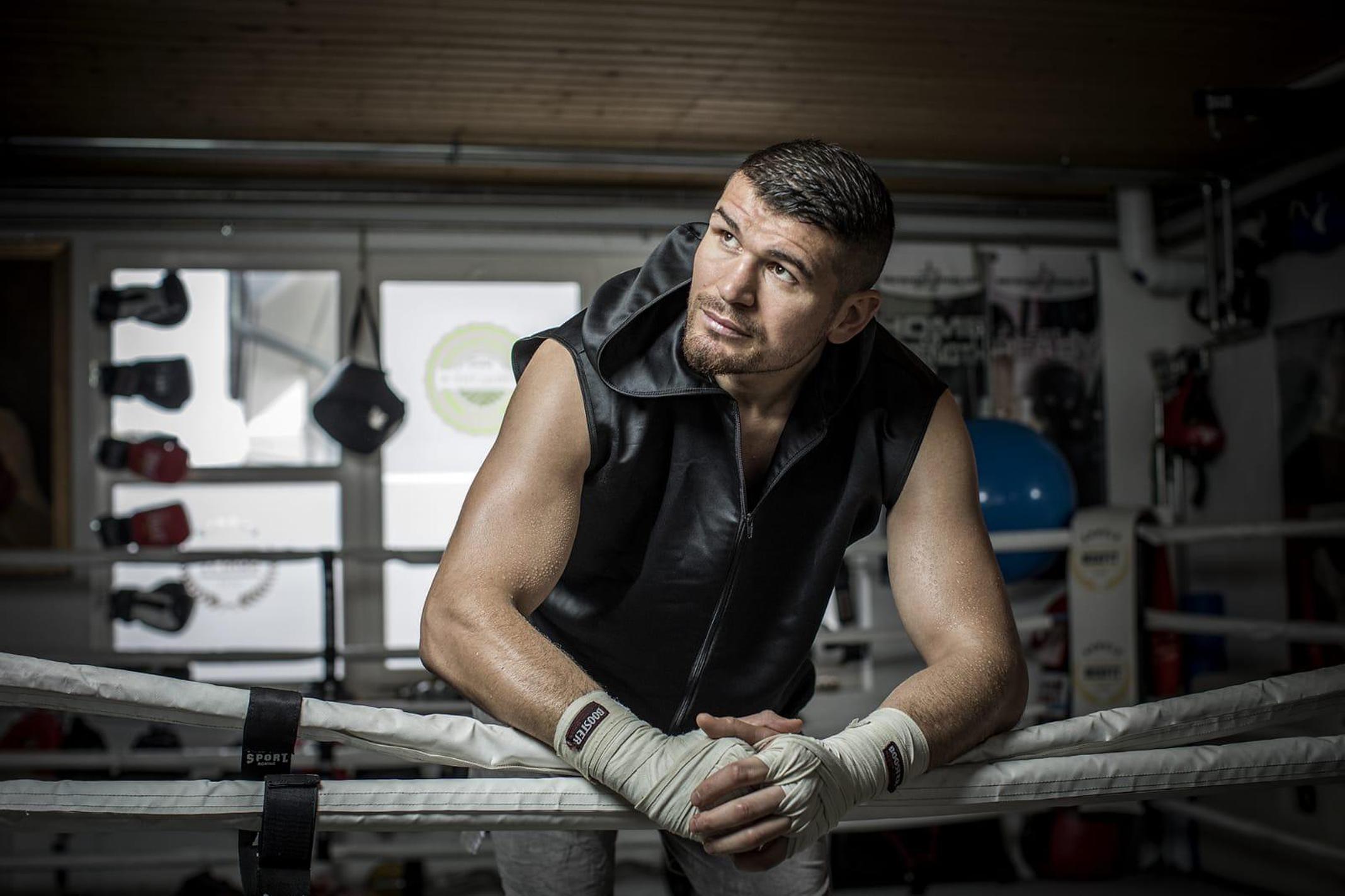 Personal Boxtraining mit Arnold Gjergjaj